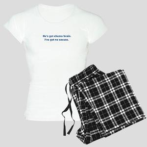 He's Got Chemo Brain Women's Light Pajamas