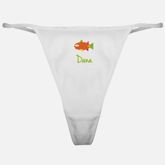 Dana is a Big Fish Classic Thong