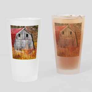 TUCKED AWAY Drinking Glass