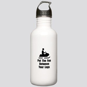 Snowmobile Fun Stainless Water Bottle 1.0L