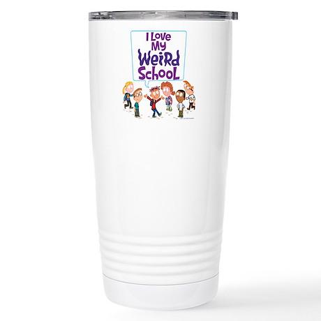 I Love My Weird School! Stainless Steel Travel Mug