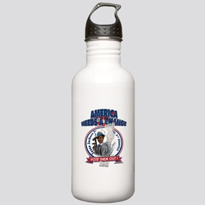"""Culture of Corruption"" Stainless Water Bottle 1.0"