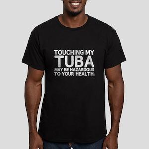 Tuba Hazard Men's Fitted T-Shirt (dark)