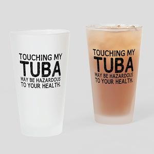 Tuba Hazard Drinking Glass