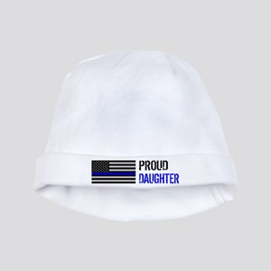 Proud Police Daughter Baby Hat