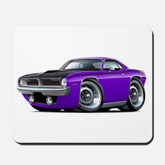1970 AAR Cuda Purple Car Mousepad
