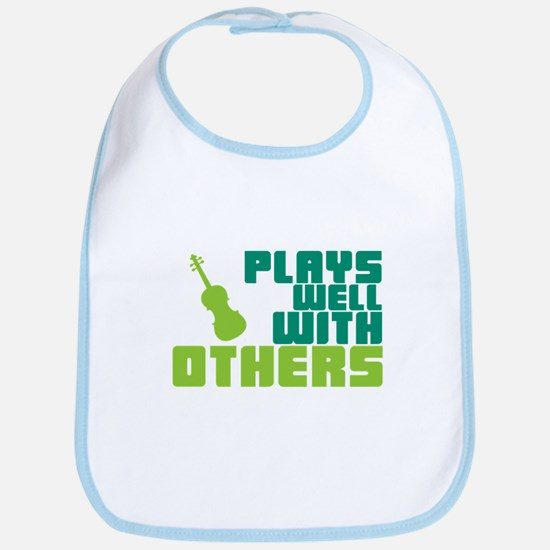 Plays Well With Others Bib
