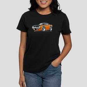1970 AAR Cuda Orange-Black Car Women's Dark T-Shir