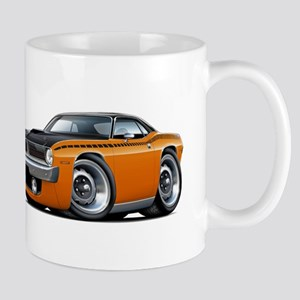 1970 AAR Cuda Orange-Black Car Mug