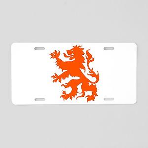 Dutch Lion Aluminum License Plate