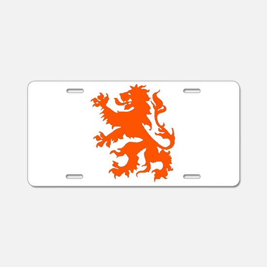 Dutch Lion Aluminum License Plate
