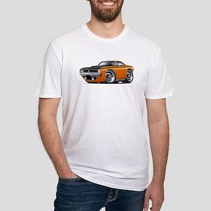 1970 AAR Cuda Orange Car Fitted T-Shirt