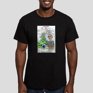 """""""Alien Amnesty 2"""" Men's Fitted T-Shirt (dark)"""