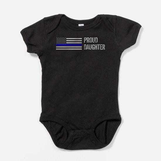 Proud Police Daughter Baby Bodysuit