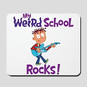 My Weird School Rocks! Mousepad
