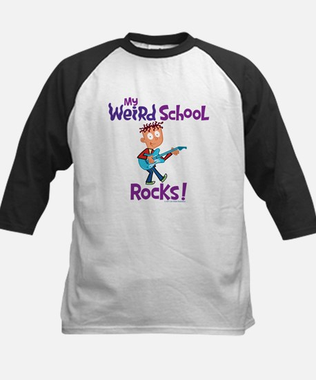 My Weird School Rocks! Kids Baseball Jersey