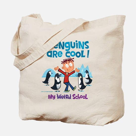Penguins Are Cool! Tote Bag