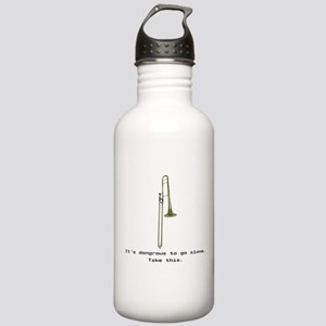 Take the Trombone Stainless Water Bottle 1.0L
