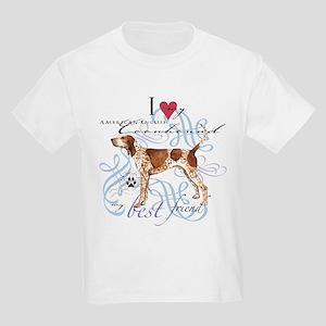 American English Coonhound Kids Light T-Shirt