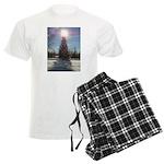 Christmas Star Men's Light Pajamas