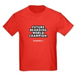 FUTURE BEARD CHAMPION Kids Dark T-Shirt