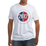 2012 Button Fitted T-Shirt