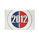 2012 Button Rectangle Magnet (10 pack)