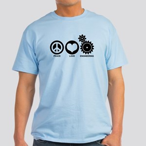 Peace Love Engineering Light T-Shirt