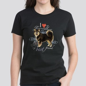 Finnish Lapphund Women's Dark T-Shirt