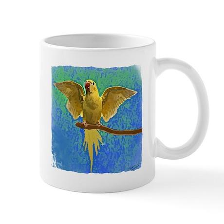 Lutino Ringneck Art Mug