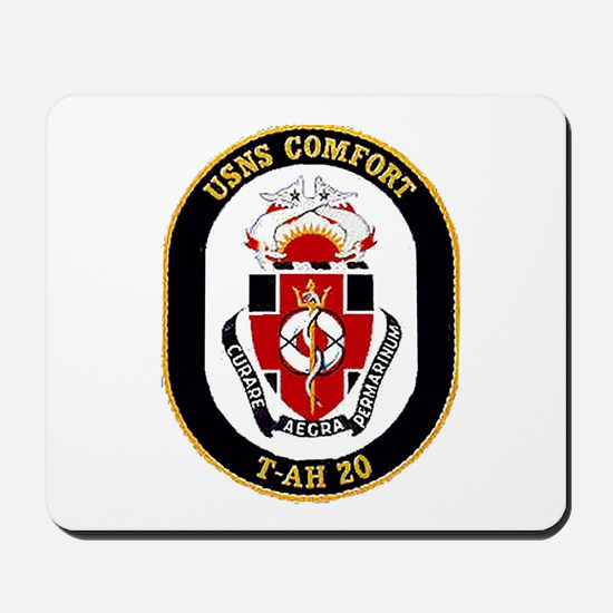 T-AH 20 USNS Comfort Mousepad