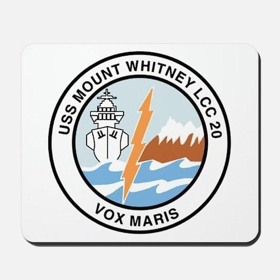 USS Mount Whitney LCC 20 Mousepad