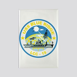 USS Blue Ridge LCC 19 Rectangle Magnet