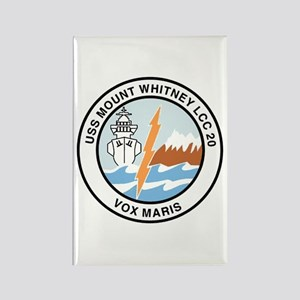 USS Mount Whitney LCC 20 Rectangle Magnet