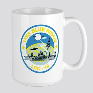 USS Blue Ridge LCC 19 Large Mug