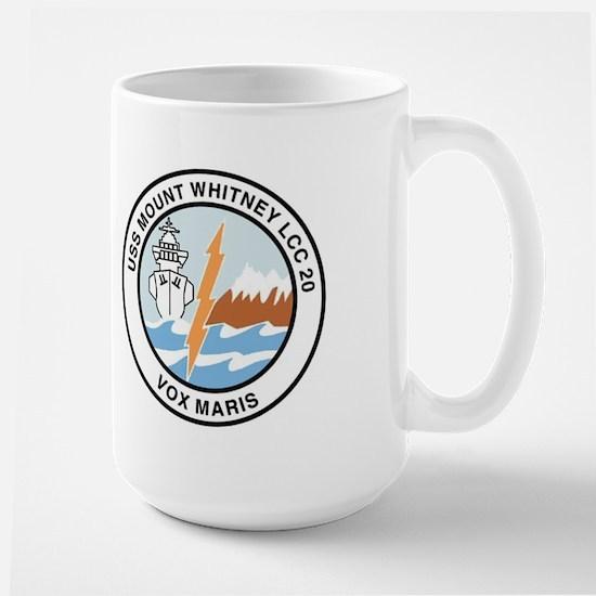 USS Mount Whitney LCC 20 Large Mug