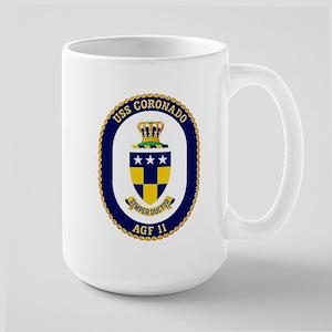 USS Coronado AGF 11 Large Mug