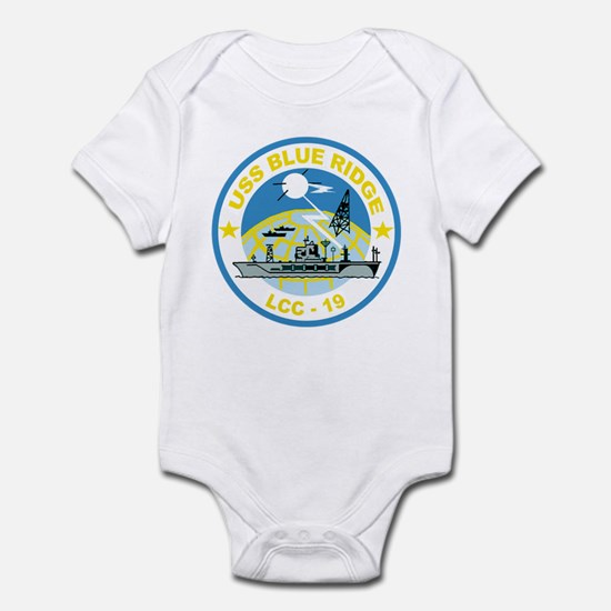 USS Blue Ridge LCC 19 Infant Bodysuit