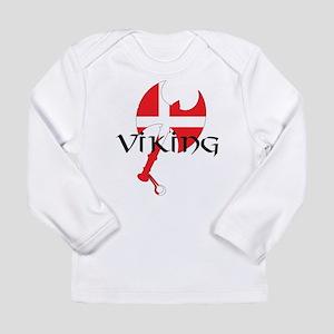 Denmark Viking Axe Long Sleeve Infant T-Shirt