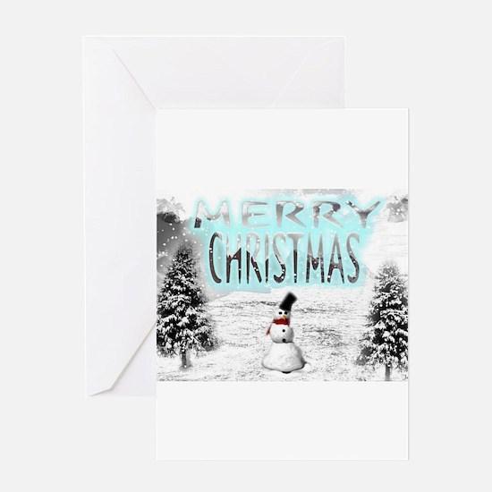 Jmcks Merry Christmas Greeting Card
