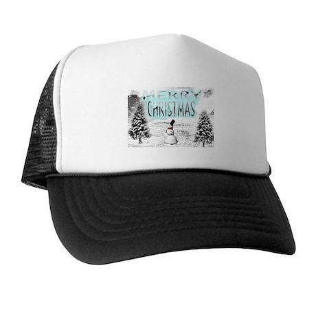 Jmcks Merry Christmas Trucker Hat