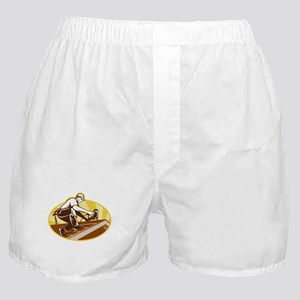 roofer roofing worker Boxer Shorts