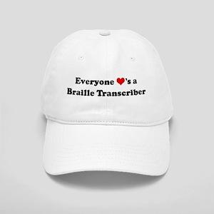 Loves a Braille Transcriber Cap
