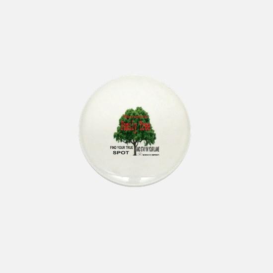 Cute Family tree Mini Button