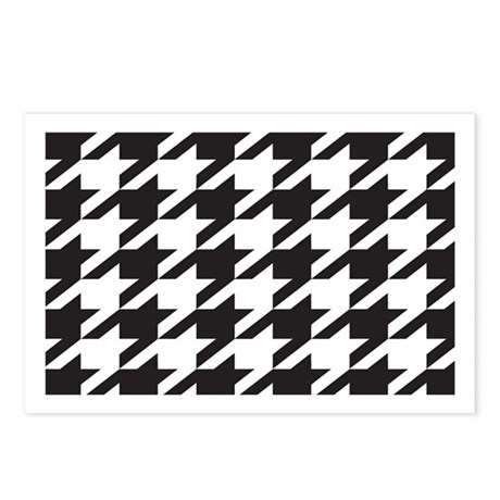 Alabama Houndstooth Postcards (Package of 8)