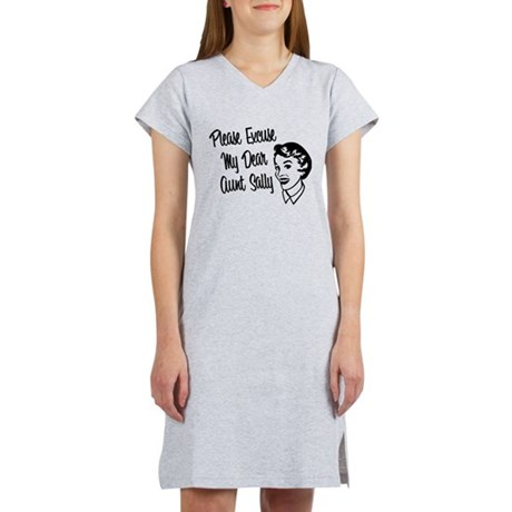 Math Order of Operations Women's Nightshirt