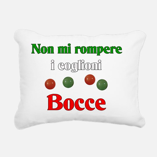 Funny Italian women Rectangular Canvas Pillow