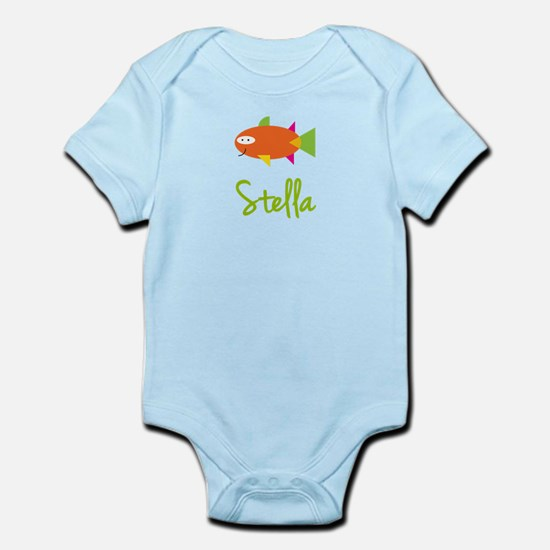 Stella is a Big Fish Infant Bodysuit