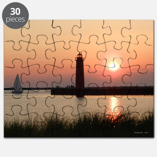 Muskegon Lighthouse 1 Puzzle