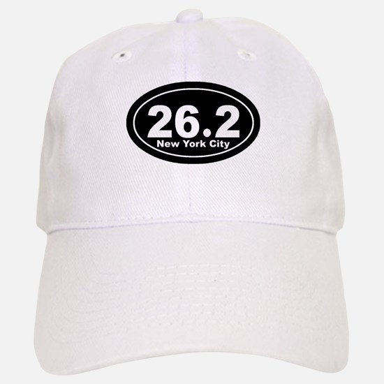 26.2 New York City marathon Baseball Baseball Cap